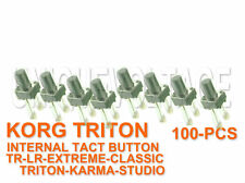 KORG TRITON LE-TR-EXTREME-KARMA-STUDIO-CLASSIC- LOT OF 100PCS PUSH BUTTON