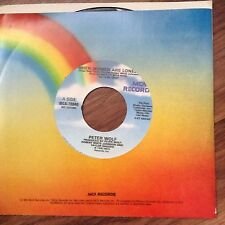 Peter Wolf-When Woman Are Lonely- Shade Of Red,Shades Of Blue unplayed 45rpm