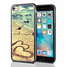 Beach With Hearts In The Sand For Iphone 7 Case Cover By Atomic Market