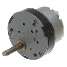12V DC 130 RPM High Torque Gearbox Electric Motor