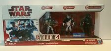 "Star Wars The Legacy Collection Evolutions Clone Commandos Set ""NEW"" (M2)"