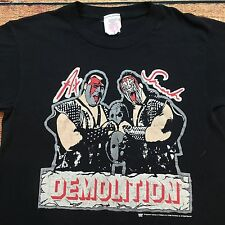 80s VTG WWF DEMOLITION World Wrestling Federation T Shirt M SUMMER SLAM 90s