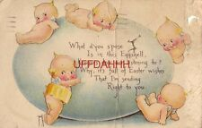 WHAT D'YOU SPOSE IS IN THIS EGGSHELL KEWPIES DEAR ARE LISTENING TO? 1923 O'Neill