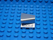 LEGO -  2 NEW Vehicle Air Scoop Top 2x2  Chrome Silver