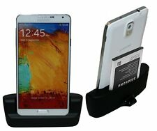 Samsung Galaxy Note 3 n9005 DOCK DOCKING STATION SUPPORTO DI RICARICA BLACK + cavo dati