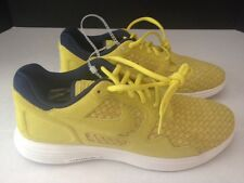 Men's Nike Lunar Flow Woven Shoes 504865-700 Size 8 Golden Sash / Navy