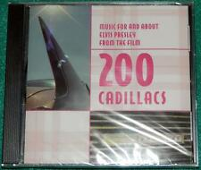 Music for and About Elvis Presley From the Film: 200 Cadillacs SOUNDTRACK CD NEW