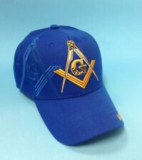 Mason, Masonic, Freemason, One Size, Royal Blue Color