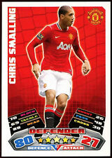 Chris Smalling Man. Utd #167 Topps Match Attax Football 2011-12  Card (C208)