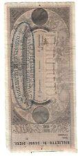 bologna 10 scudi biglietto provvisorio 4 legazioni lotto.1558