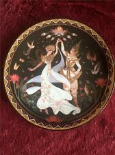 THE WEDDING DANCE PLATE THE LOVE STORY OF SIAM THIALAND BOX + CERT