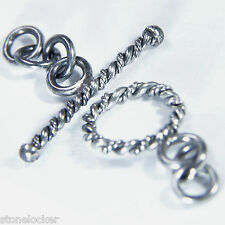 TG10 Toggle  26mm SILBER 925 Verschluss f. Kette u. Armband silver clasp 26mm