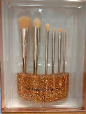 SEPHORA Collection Glitter Happy Rose Gold Brush Set 6 Brush w/ Stand BNIB $225