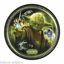 8 Star Wars Heroes & Villains Child's Birthday Party Small 20cm Paper Plates