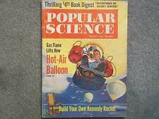 1961 POPULAR SCIENCE AUGUST VOL 179 NO 2  SECRET SERVICE GAS FLAME LIFTS HOT AIR