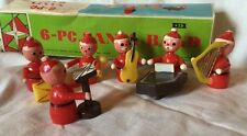 Vintage 1969 Dan-Dee 6 Piece Santa Band Original Box