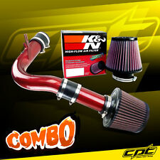 00-05 Dodge Neon SOHC 2.0L 4cyl Red Cold Air Intake + K&N Air Filter