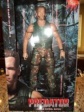 DUTCH SCHAEFER PREDATOR 1/4 18 INCH ACTION FIGURE NECA ALIEN AVP ARNOLD MOVIE