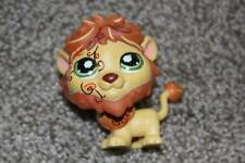 Littlest Pet Shop Lion #944 Green Eyes Safari Animal LPS Toy Postcard Hasbro Fun