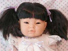 ALL BABY GIRL ASIAN DOLL TO COLLECT OR REBORN OR FOR PLAY VERY RARE BERJUSA MC
