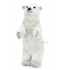 Papo 50144 Polar Bear Cub Walking Model Animal Toy Model Replica - NIP