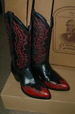 Mens Western Cowboy Boots John Chisholm Honky Tonk Size 8.5D