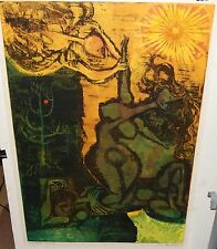 """DICK SWIFT """"THE CREATION OF EVE"""" LIMITED EDITION HAND SIGNED LITHOGRAPH LISTED"""