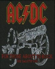 "AC/DC "" For Those about to Rock"" Parche 600032#"