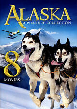8-Movies Alaska Adventure Pack 2 Disc DVD New Factory Sealed