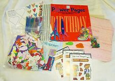 PACK LOT SET Scrapbooking scissors Scrapbook ME & MY BIG IDEAS stickers confetti