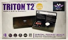 New My Weigh Triton T2 Digital Pocket Scale 400g x 0.01g Free Shipping