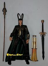 "Diamond Toys Marvel Select Thor LOKI MOVIE VERSION Loose 7"" Scale Figure 2011"