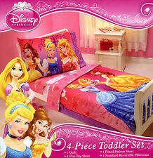 Disney Princess  Fairy Tale Moment  4-Pc Toddler Bedding