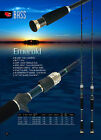 "Carbon Fibre 5'8"" 8-15LB Barra Cod Casting Graphite Fishing Rod Fuji SIC"