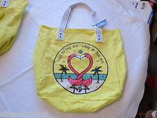Juniors womens girls Volcom Bird beach pool bag Getaway Canvas Beach Tote NEW*^