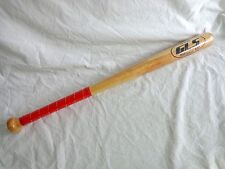"SOFTBALL BAT 27"" Slowpitch Wood 30 oz WSB GLS Red Wrapped Handle NEW"