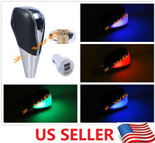 TOUCH MOTION ACTIVATED LED LIGHT CAR Shift knob Universal shifter gear knob