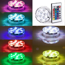 Submersible Led Light Base Color Changing Wedding Party Decorations w Controller