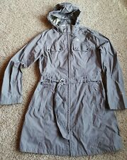 The North Face Hyvent DT Windbreaker Rain Jacket Trench Coat Womens Sz L