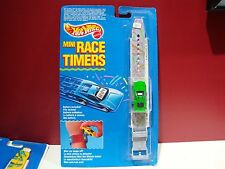 Hotwheels Mini Race Timers Watch micro mustang fastback wrist watch 67 68 69 70