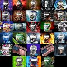 New Full Face Mask Skull 3D printed Balaclava Halloween Snow Ski Motorcycle