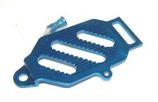 TEAM LOSI MINI-T GPM ALUMINUM BATTERY HOLD DOWN W/ANT.MT BLUE SMT0126