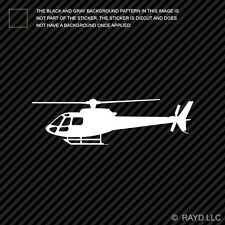 (2x) Airbus Eurocopter AS350 Helicopter Sticker Die Cut Decal Self Adhesive