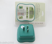 1pc NEW DUOYI DY207 Electrical Socket Tester RCD Plug AU/NZ/CN Australia Version