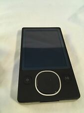 Microsoft Zune 80 Black (80GB) Digital Media Player MP3 - Not working