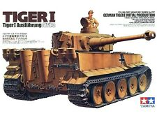 Tamiya 35227 1/35  German Tiger I Initial Production Afrika from Japan Rare