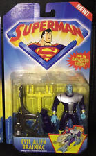 Evil Alien Brainiac Action Figure from the Superman Animated Show DC