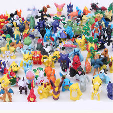 24pcs Mixed Lots Cute Pokemon Pikachu Monster Mini Action Figures Doll Kids Toy
