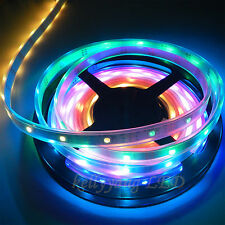 16.4FT 5M WS2811 30LED Dream Color 5050 RGB Tube-Waterproof LED Strip Light 12V
