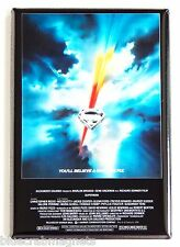 Superman the Movie FRIDGE MAGNET (2 x 3 inches) movie poster christopher reeve